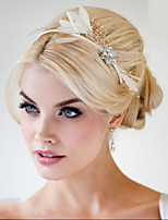 Hand Made Wedding Feather Hair Fascinator Headpieces Fascinators 006