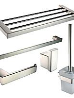 Sets d'accessoire de salle de bain/Barre porte-serviette/Porte-rouleau WC/Patère de vêtement/Porte-brosse WC/Sèche-serviette -