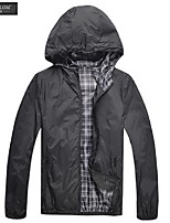 JESUNLOM®Man's Jacket Fashon Long Sleeve Thin Style Hooded Coat Korean Style Casual All-Match Jacket