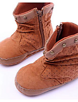 Baby Shoes Casual  Boots Brown