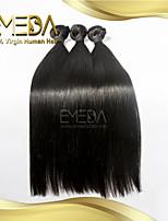 3pcs / cabelo virgem brasileiro muito retas produtos 100% cabelo cabelo humano extensão rainha do baile feixes de tecer cabelo brasileiro
