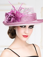 Women's Flax Headpiece - Special Occasion/Outdoor Hats 1 Piece