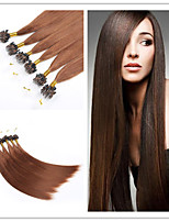 Top Quality Micro Ring Hair/Loop Hair Extension Brazilian Human Virgin Straight Hair 300G/Lot 1G/S 100G/PC In Stock