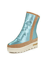 Women's Shoes  Low Heel Creepers/Comfort Boots Office & Career/Dress/Casual Black/Blue/Silver/Gold