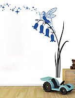 stickers muraux de style de décalques de mur mur de PVC de dessin animé pour enfants de bande dessinée autocollants