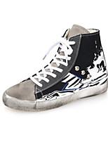 Scarpe Donna - Sneakers alla moda - Tempo libero / Casual - Chiusa - Piatto - Sintetico - Nero / Verde / Rosso