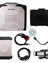 piwis probador ii con la herramienta de diagnóstico de wifi para porsche con CF30 portátil piwis probador ii wifi