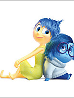 INSIDE OUT Riley Joy Sadness Fear Disgust Anger Movie Wall Sticker Kids Bedroom Decoration