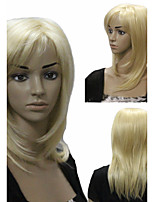Europe and the United States Detonation Model High Quality Fashion Gold Temperament Hair Wigs