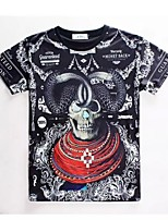 Women's High Quality Creative Special Animal Fierce Summer Breathable 3D Style T-Shirt——Claw Skulls