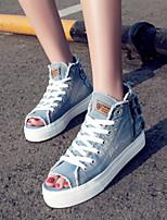 Zapatos de mujer - Plataforma - Punta Abierta / Plataforma / Desteñido / Creepers / Comfort / Innovador / Gladiador -Sandalias / Sneakers