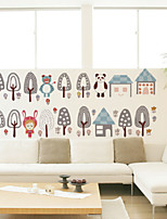 Wall Stickers Wall Decals Style Cartoon Grove PVC Wall Stickers