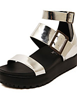 Women's Shoes Wedge Heel Styles Sandals Casual Silver/Gold