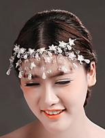 Kristallen/Tule/Messing/Imitatie Parel Vrouwen Helm Bruiloft/Speciale gelegenheden Bloemen/Hoofdketting Bruiloft/Speciale gelegenheden1