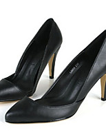 Women's Shoes Stiletto Heel Heels Pumps/Heels Office & Career Black/White