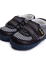 Baby Shoes Casual Fabric Fashion Sneakers Black/Tan
