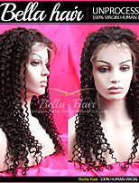 Human Hair Lace Front Wigs Black Women Water Wave Guleless Lace Front Remy Virgin Human Hair 10