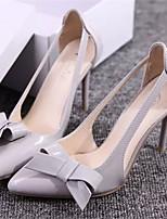 Chaussures Femme Similicuir Talon Aiguille Bout Pointu Escarpins / Talons Habillé Rose/Blanc/Gris