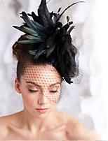 Hand Made Wedding Feather Hair Fascinator Headpieces Fascinators 003
