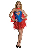 Superman Female As Picture Cosplay Costumes Cloak/Top/Skirt