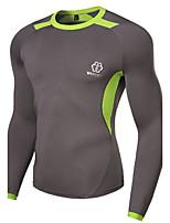 WHAT LEES Men's Sport Print Long Sleeve Regular T-Shirt