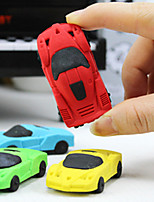 Sweet Gift Racing Car shaped Eraser Rubber Stationery for Kids (Random Color)