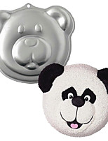 FOUR-C High Quality Panda Head Cake & Bread Cast Aluminum Bakeware, Cake Baking Pans,Tin, Form Bakeware Tools