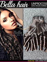 Brazilian Bundle Hair Funmi Curly Hair 3pcs/lot Unprocessed Virgin  Human Hair Weave Double Weft Fast Shippment