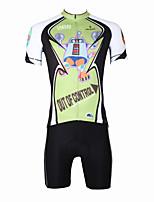 Cycling Jerseys Bike Suit Cycling Jersey + Short Bib Pants for Men