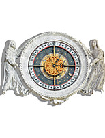 Modern/Contemporary Houses 3D Wall Statues Indoor Clock Home Furnishing Bedroom