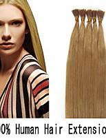 4 set 16 inch keratine stok tip / i tip 0,4 g / s Maleisische human hair extensions 14 kleuren voor vrouwen schoonheid