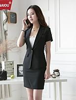 OUNAIOU®Women's Lapel Slim Temperament Professional Suit (Blazer+Skirts)