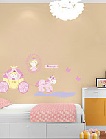 Wall Stickers Wall Decals Style Princess PVC Wall Stickers