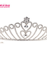 Neoglory Jewelry 2015 Hot Sale Heart Tiaras Rhinestone Crown Bridal Wedding Hair Jewelry Women Hair Accessories