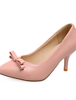 Women's Shoes Stiletto Heel Heels/Pointed Toe Pumps/Heels Office & Career/Dress Black/Pink/Beige