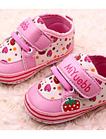 Baby Shoes Casual Canvas Fashion Sneakers Pink/Red