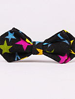 Baby Safety Pin Canvas Bow Ties