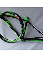 MB02+26er Rim Neasty Logo High Qulity 26er Full Carbon Fiber Mtb Frameset Frame and Rims Green Color
