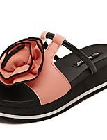 Women's Shoes  Platform Open Toe Sandals Casual Pink/White