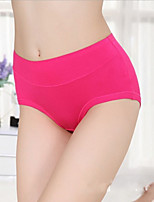 Women's Jacquard Abdomen Waist Gauze Underwear Women's Modal Panties