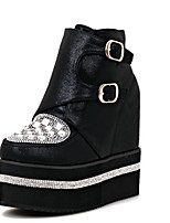 Women's Shoes Platform/Motorcycle Boots/Bootie/Creepers Boots Casual Black