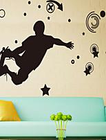 pegatinas de pared de la pared de estilo calcomanías pegatinas de pared tablero deslizante juventud sangre pvc caliente