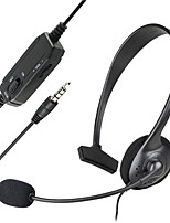 Compatible With Sony PlayStation 4 (PS4) Black Over the Head Handsfree Wired Mono Gaming Headset with Boom Microphone
