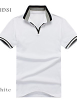 New summer men's Polo Shirt male Polo Shirt Short Sleeved T-shirt