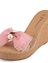 Women's Shoes  Wedge Heel Wedges/Platform Sandals Casual Pink/White