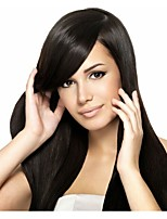 In Stock 10-30inch 100% Brazilian Human Hair Silk Straight Natural Color Lace Front Wig & U Part Wig