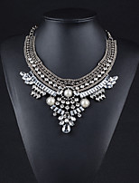 Alloy Plated With Imitation Pearl Fashion Necklace