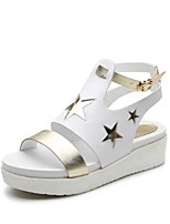 Women's Shoes Leather  Low Heel Open Toe Sandals Dress More Colors Available