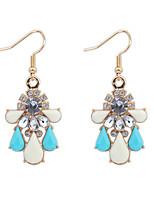 Women's Fashion Summer Style Water Droplets Acrylic Drop Earrings