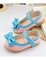 Girl Shoes Outdoor/Dress/Casual Faux  Flats Blue/Pink